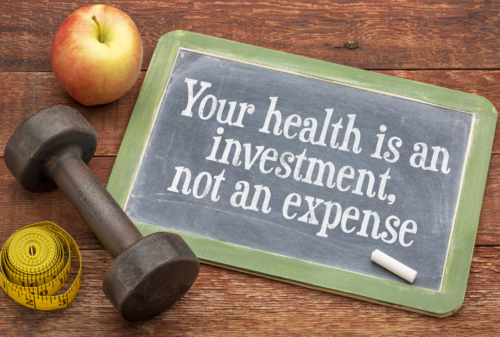 Your Health is an Investment, Not an Expense