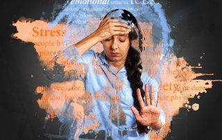 stress stressed woman