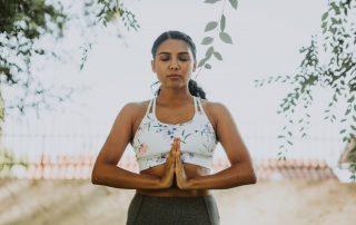 standing balance meditation