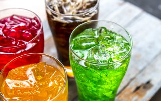 sugary drinks beverage